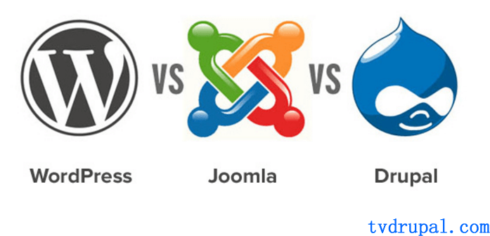 WordPress vs Joomla vs Drupal – 三者比较,哪一个更好?